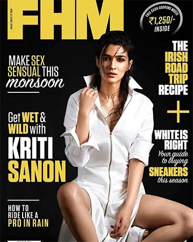 Kriti Sanon on FHMIndia