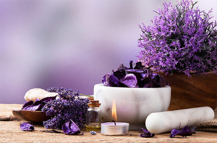 Lavender Oil Spa