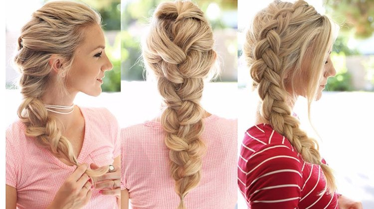 Long Elegant Braid Hairstyle