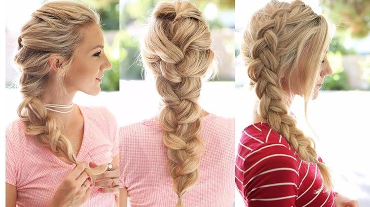 Long Elegant Braid Hairstyle