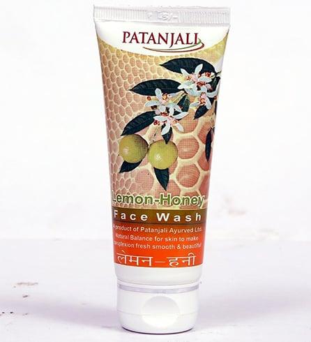Patanjali Lemon Honey Face Wash