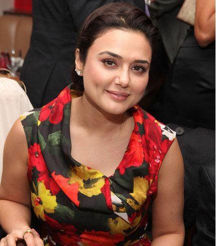 Preity Zinta Bodystats
