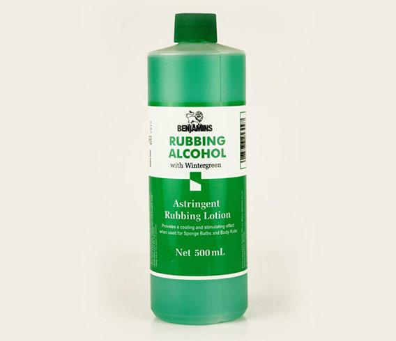 Rubbing Alcohol for Headach