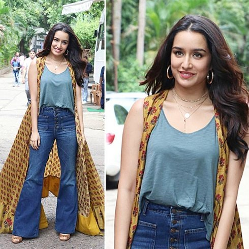Shraddha Kapoor in Anushree label