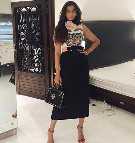 Sonam Kapoor Gucci Accessories
