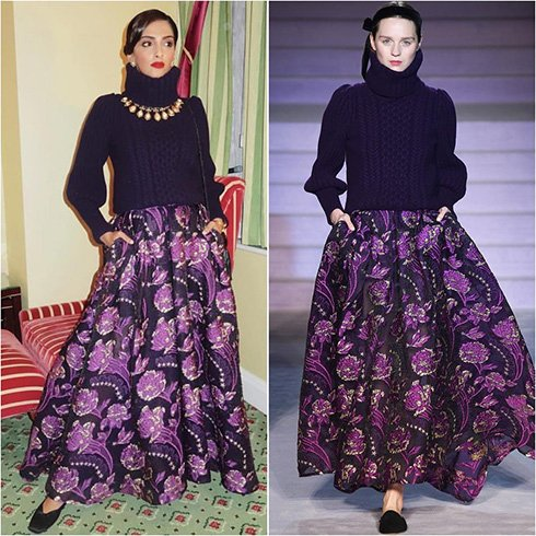 Sonam Kapoor In Temperley London