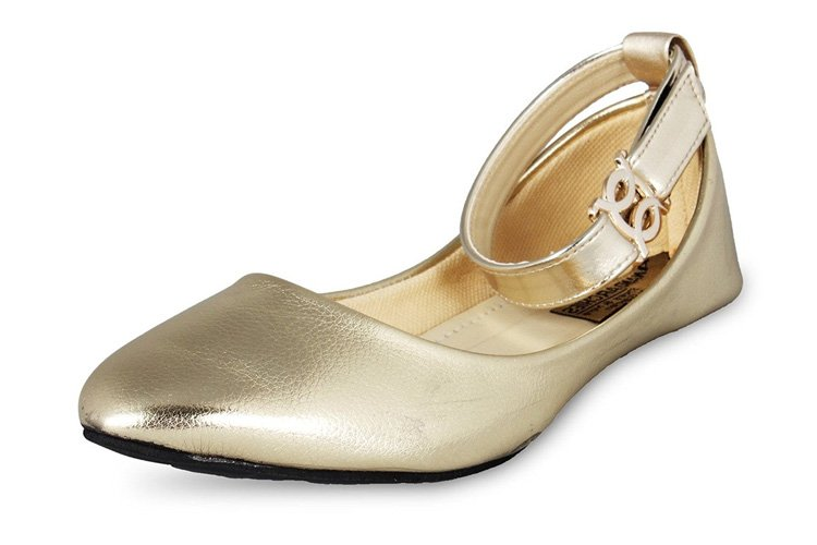 ANAND ARCHIES Women's Bellies IPL-GOLD-P