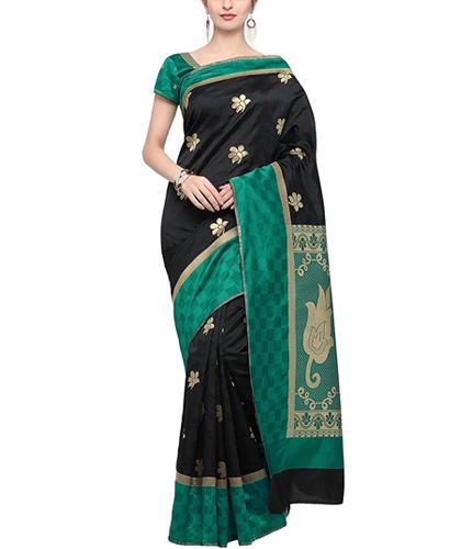 Bhelpuri Kanjeevaram Silk Woven Saree