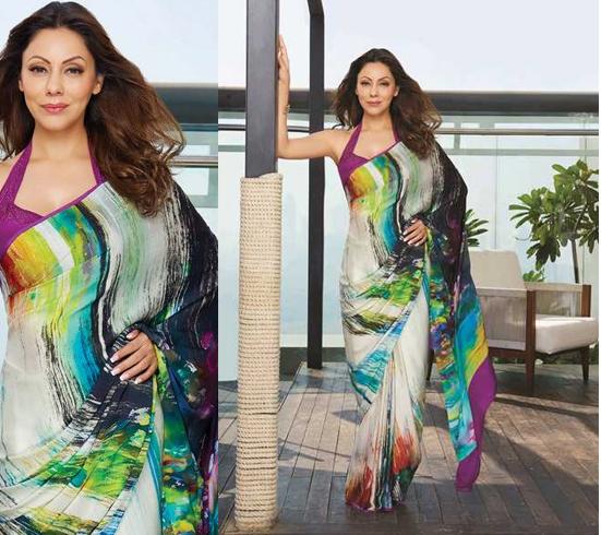 Gauri Khan Fashion In Saree