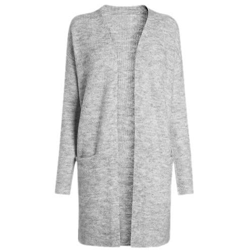 Grey Textured Shrug