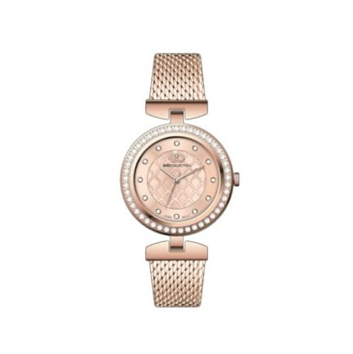 Inara By Gio Collection Analog Rosegold Dial Women Watches