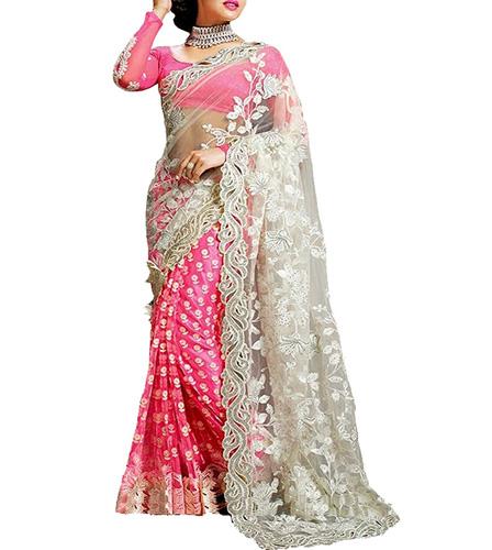 Indian E Fashion Net Saree