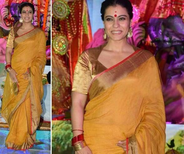 Kajol Fashion In Pooja