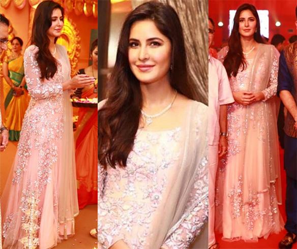 Katrina at Kalyan Jewellers Navratri Celebrations