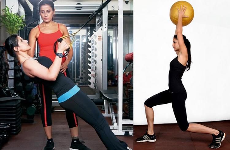 Katrina Kaif Gym Workout