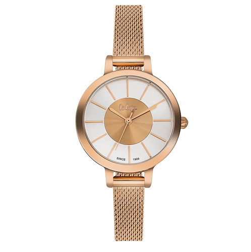 Lee Cooper Analog Silver Dial Women's Watch