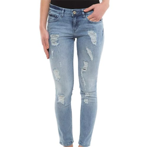 Mid-Rise Ankle Length Skinny Jean