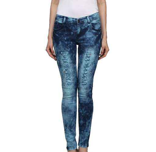 Miss Wow Signature Collection Denim Jeans For Women