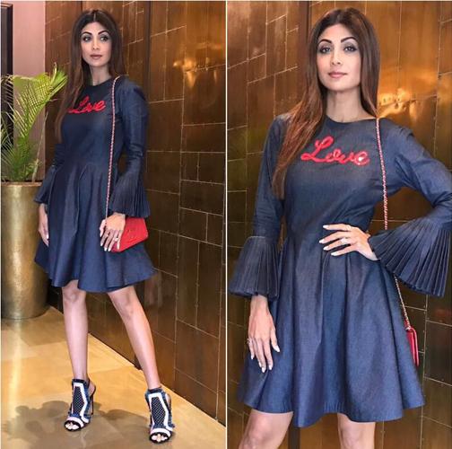 Shilpa Shetty Fashion Trends