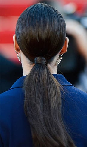 Sleek Long Ponytail