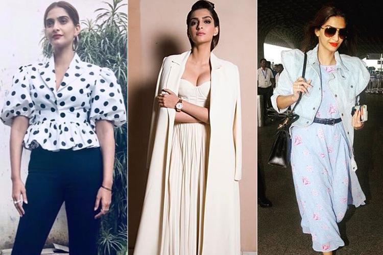 Sonam Kapoors Latest Styles