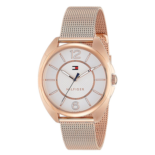 Tommy Hilfiger Analog Silver Dial Women's Watch