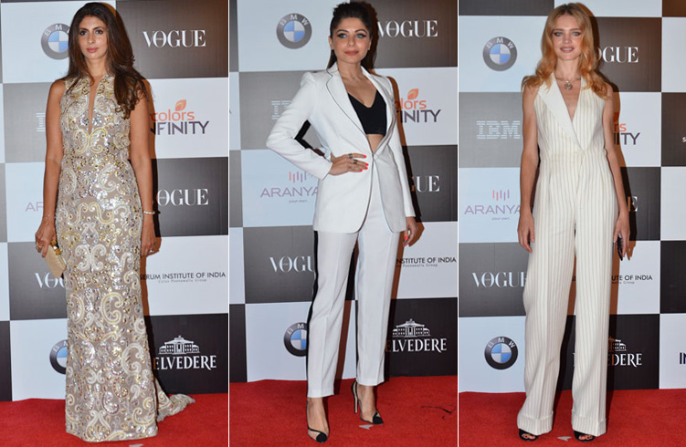 Bollywood Divas at Vogue Women of The Year 2017 Awards