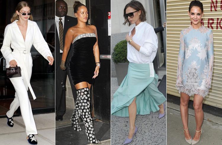 Celebs NYFW Fashion