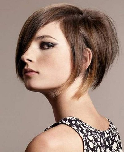 Edgy Bobs Hairstyle