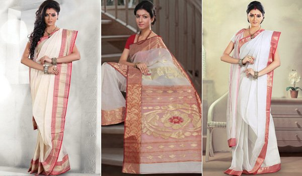 53428d7db2c Famous Bengali Sarees From West Bengal You Must Wear at Upcoming Weddings .