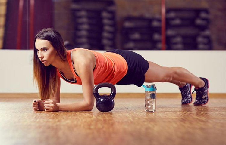 Isometric Forearm Plank for Abs