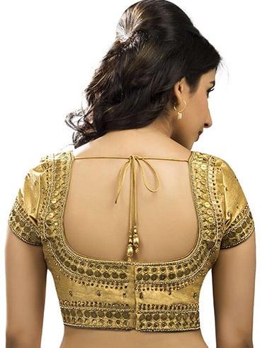 Full Sleeve Golden Blouse