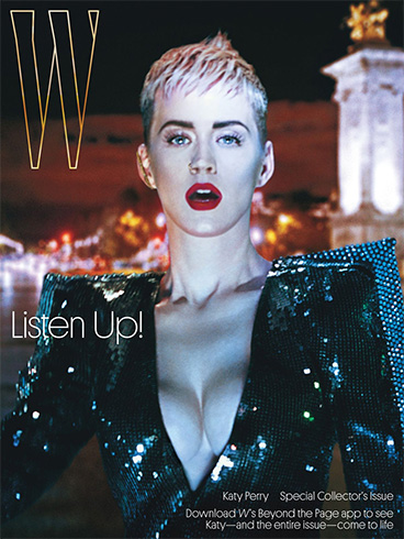 Katy Perry on W
