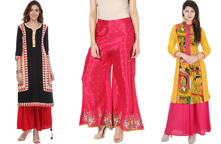 Kurtis and Palazzos for Navratri