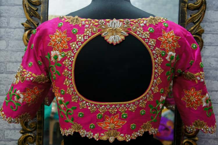 Latest Saree Blouse Pattern