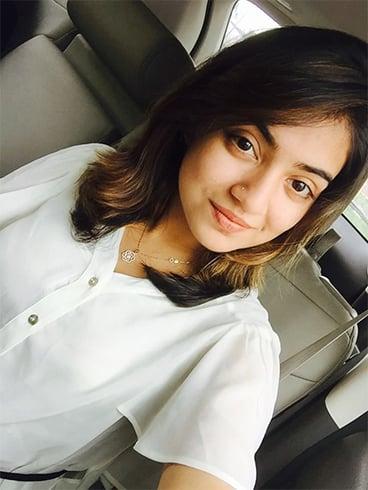 Nazriya Nazim Without Makeup