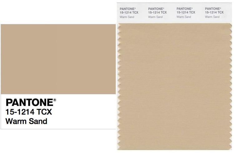 pantone 15-1214 warm sand