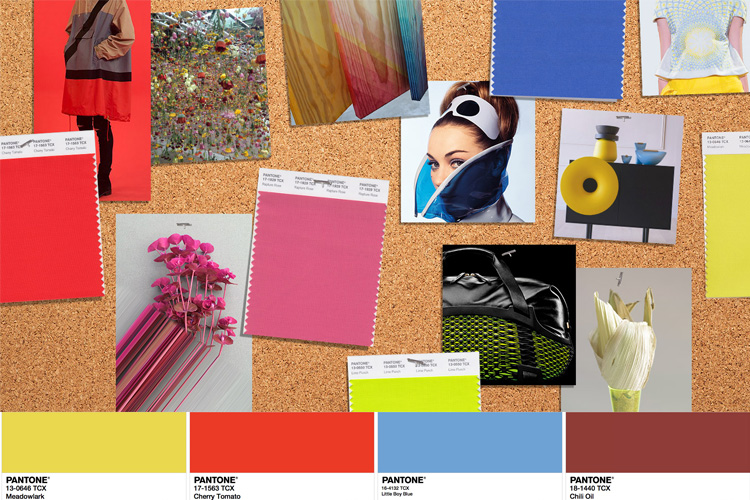 Pantone Spring 2018 Fashion Color Trend