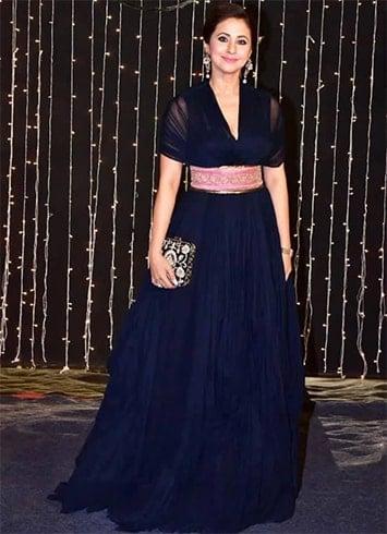 Urmila Matondkar Priyanka Wedding Reception
