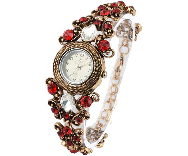 AELO Analogue Silver Dial Women's Watch