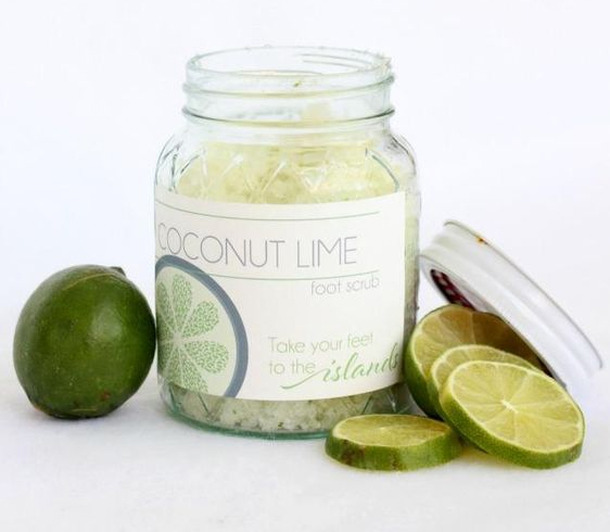 Coconut And Lime Foot Spa