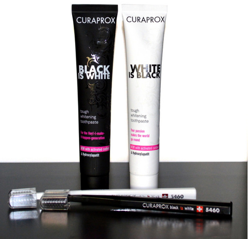Curaprox Black is White Toothpaste