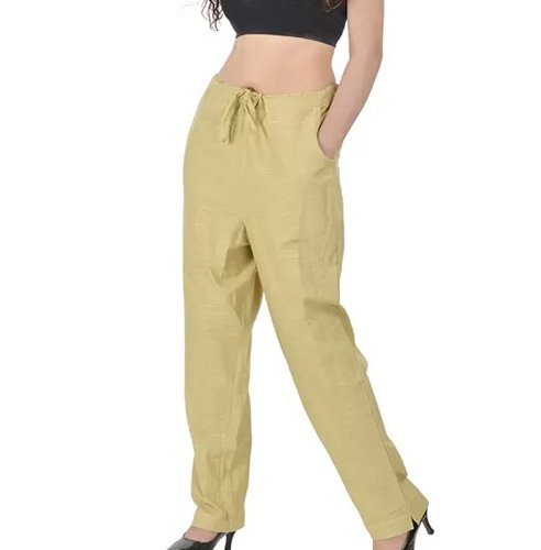 Decot Paradise Regular Fit Women Beige Trousers