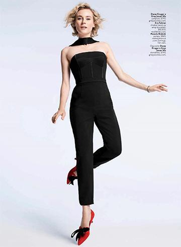 Diane Kruger for InStyle