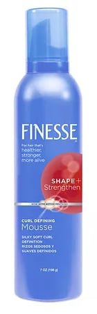 Finesse Self Adjusting Curl Defining Mousse