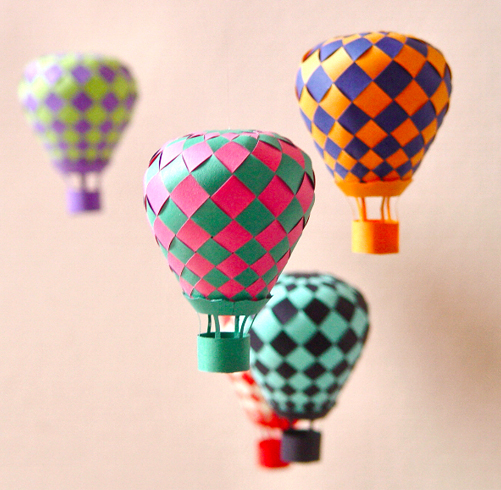 Hot Air Paper Balloon