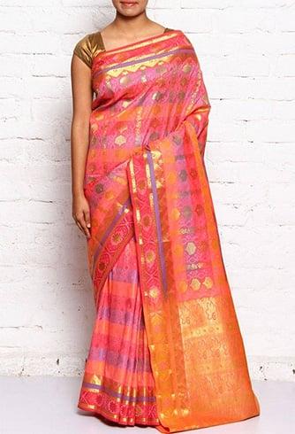 Kanchipuram silk sari