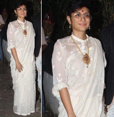 Kiran Rao Sari Style