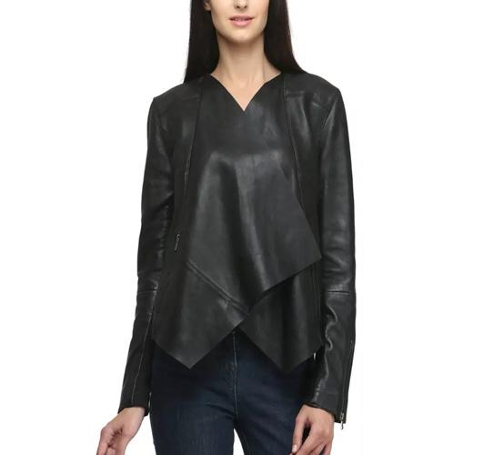 Ladies Stylish Leather Jacket