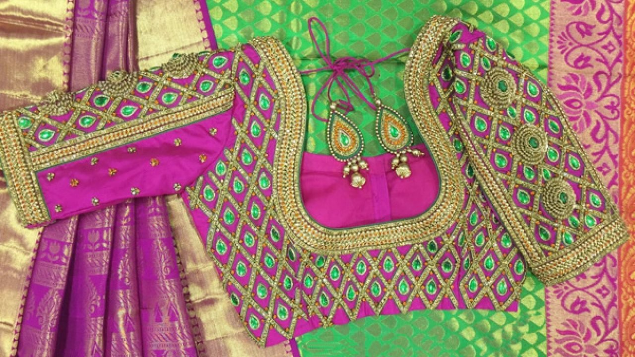 Latest Blouse Designs For Pattu Sarees